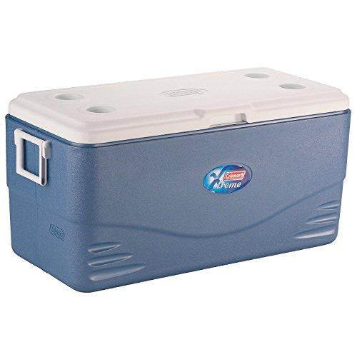 Coleman 100QT Kühlbox Xtreme 90,8L eisblau/weiß