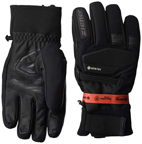 Ziener Herren GIL GTX Gore Active Glove Alpine Ski-Handschuhe/Wintersport, Wasserdicht, Atmungsaktiv, Grey Iron tec, 7,5