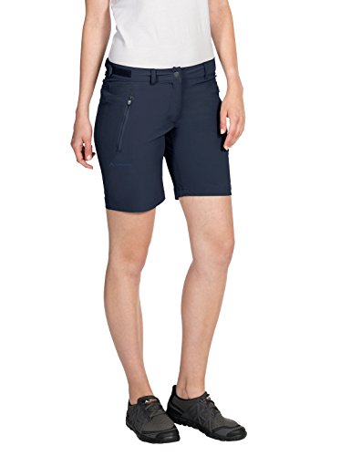 VAUDE Damen Hose Farley Stretch Short, Eclipse, 34, 403817500340