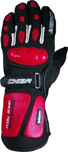 Chiba Erwachsene Ski-Handschuhe World Cup, Schwarz, 6.5