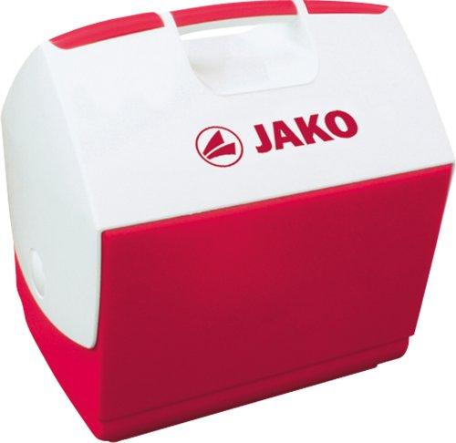 JAKO Unisex– Erwachsene 2150 Kühlbox, rot/weiß, 0 (Volumen: 6,0 Liter-Fassungsvermögen: 4,45 Liter)