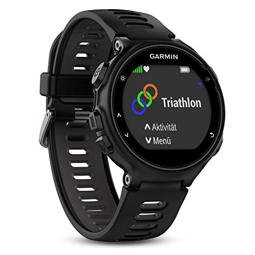 Garmin Forerrunner 735 XT - GPS-Multisportuhr für Läufer und Triathleten, umfangreiche Trainingsfunktionen, Herzfrequenzmessung am Handgelenk, bis zu 11 h Akku im GPS-Modus, Analyse auf Garmin Connect