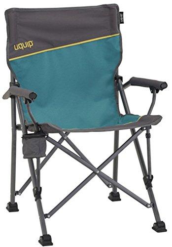 Uquip Roxy Campingstuhl mit Flaschenhalter - Stabile Ausführung bis 120 kg