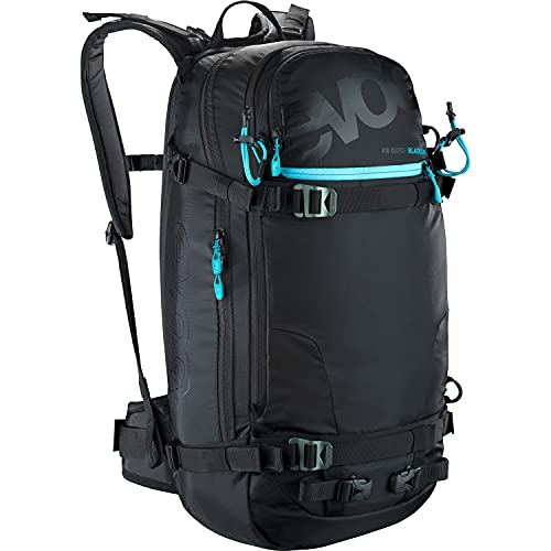 EVOC Protektor Rucksack FR Guide Blackline, Black, 56 x 27 x 22 cm, 30 Liter