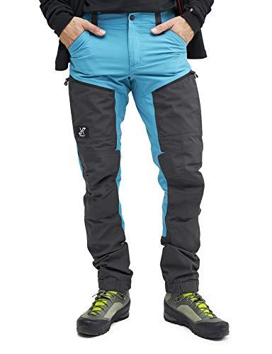 RevolutionRace GPX Pro Pants Herren Wasserabweisende, Atmungsaktive und Strapazierfähige Outdoorhose zum Wandern, Trekking, Camping, Klettern und Jagen, Dusty Blue, S