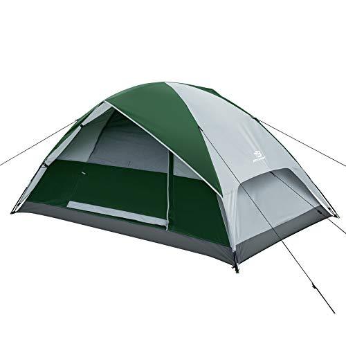 Bessport Zelt 2 Personen Ultraleichte wasserdichte kuppelzelt 3 Saison Leichte Rucksack-Zelt für Camping, für Trekking, Outdoor, Festival, Camping, Rucksack, mit kleinem Packmaß