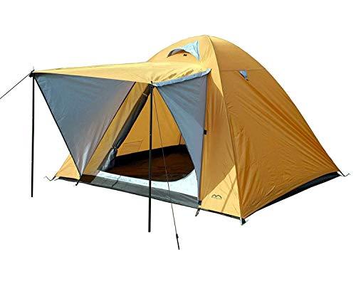 MONTIS HQ Igloo Zelt für 2 bis 3 Personen Mann, wasserdicht & Ultra-leicht mit Innenzelt, Vordach & Moskitonetz, Premium-Zelt, geeignet als Reise- Trekking- & Caming-Zelt mit Tragetasche
