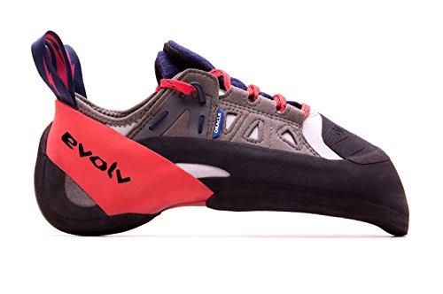Evolv Oracle Kletterschuhe Herren Blue/Grey/red Schuhgröße UK 9,5 | EU 44 2021 Boulderschuhe