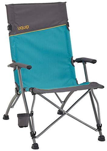 Uquip Sidney Campingstuhl - Lounge-Charakter, hohe Rückenlehne, bis 120 kg