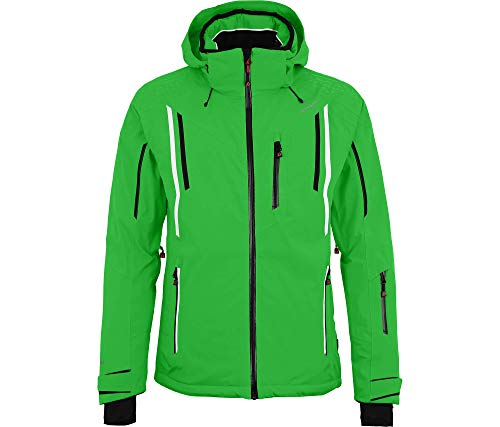 Bergson Herren Skijacke Riley, Classic Green [210], 23 - Herren