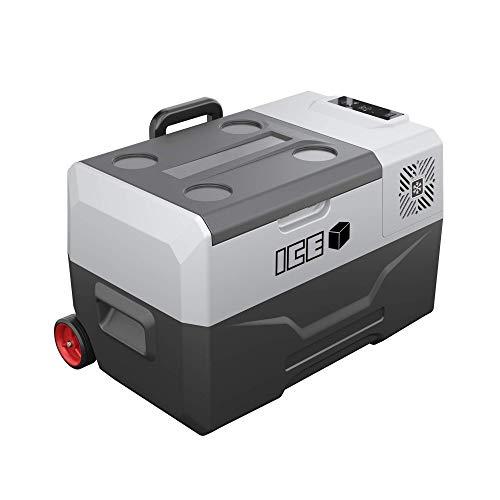 ICE Cube 30 Liter tragbarer Autokühlschrank Gefrierschrank Kühlbox Gleichstrom 12V 24V Wechselstrom 230V
