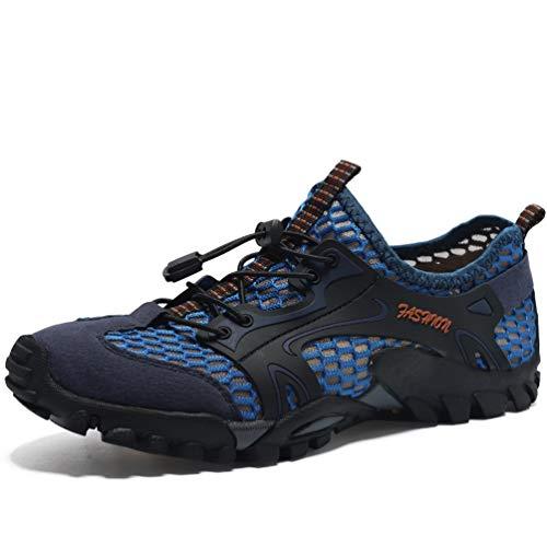 FLARUT Herren Sportsandale Sommer Hiking Sandale Atmung Mesh Schuhe Draussen