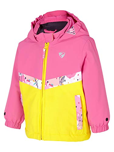 Ziener Kinder AMAI mini (jacket ski) Baby Skijacke/Winterjacke | Wasserdicht, Winddicht, Warm, pink Dahlia, 86