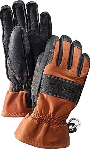 HESTRA Fält Guide Handschuhe braun/schwarz Handschuhgröße 7 2021 Outdoor Handschuhe