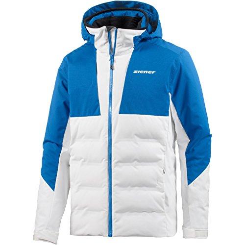 Ziener Herren Tamar Jacket ski Skijacke, White, 46
