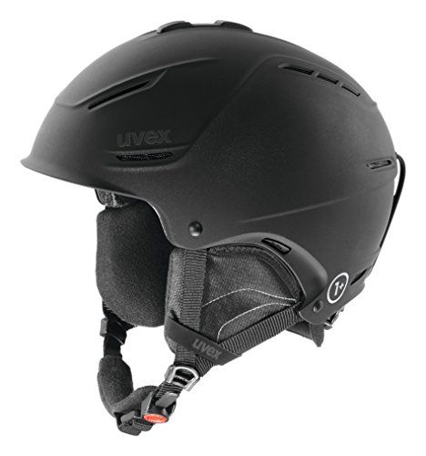 UVEX p1us Helm für Skihelm Snowboardhelm, black met mat, 59-62 cm