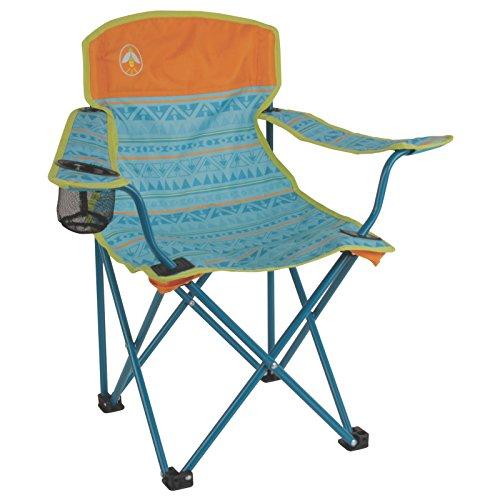 Coleman 2000025292 Jugendstuhl, 600D Polyester, blaugrün, S