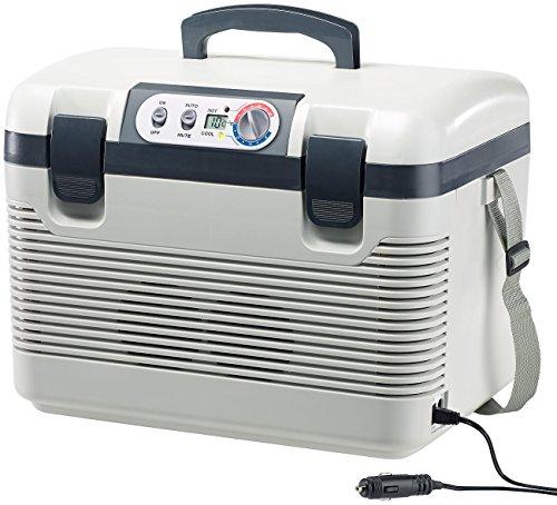 Xcase Kühlbox: Thermoelektrische Kühl-/Wärmebox, LED-Anzeige, 12/24 & 230 V, 19 Liter (Thermoelektrische Kühlbox)