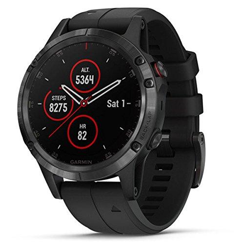 Smartwatch Fenix 5 Plus/SAP/Black 010-01988-01 Garmin, Schwarz, Einheitsgröße
