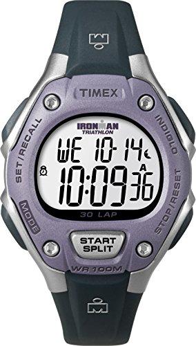 Timex Damen Digital Uhr mit Harz Armband T5K4109J