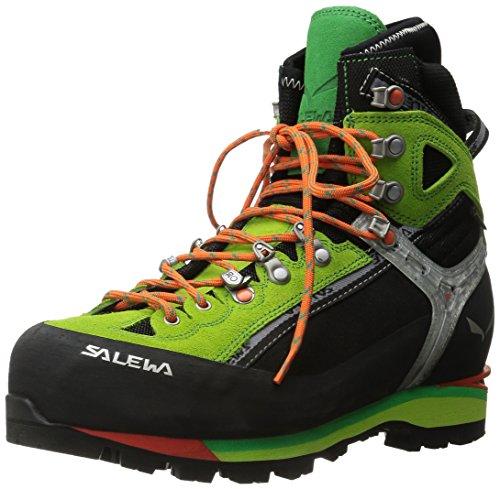 Salewa Herren MS Condor Evo Gore-TEX Trekking-& Wanderstiefel, Black/Cactus, 39 EU