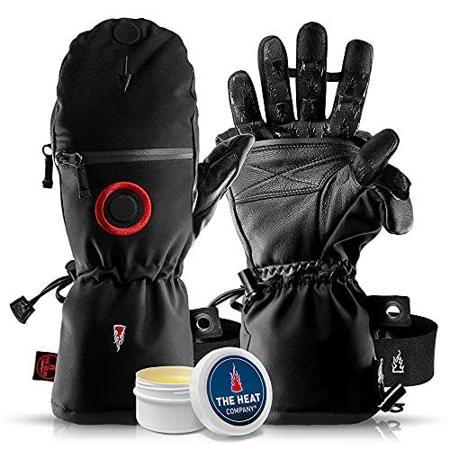 THE HEAT COMPANY - Heat 3 SMART PRO – Die Handschuh Innovation – Fingerhandschuhe und Fäustling in Einem - Hantieren und trotzdem warm bleiben - No.1 Fotohandschuhe, Outdoor, Skifahren
