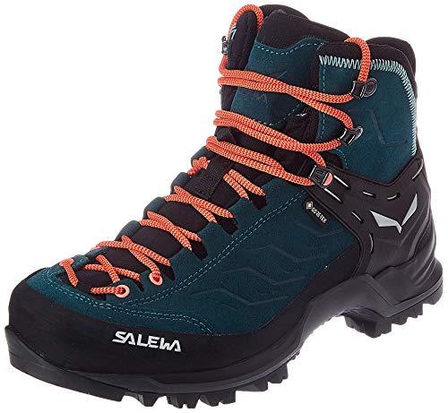 Salewa Damen WS Mountain Trainer Mid Gore-TEX Trekking-& Wanderstiefel, Atlantic Deep/Ombre Blue, 38 EU