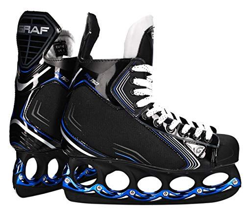Graf tblade Schlittschuhe Pk150 Eishockey und Freestyle t Blade Schlittschuhe Eislaufen (46)