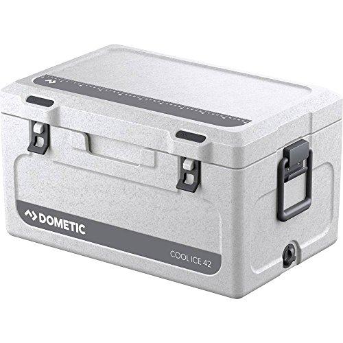 DOMETIC Cool-Ice CI 42, tragbare Passiv-Kühlbox / Eisbox, 43 Liter, für Auto, Lkw, Boot oder Camping, Ideal für Angler und Jäger