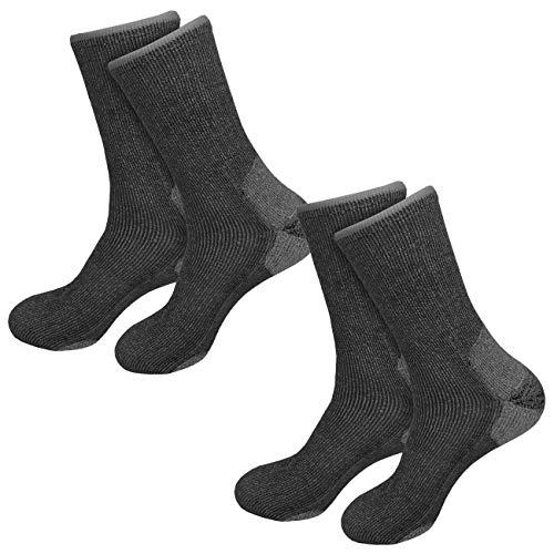etrado fashion 1-6 Paar - Extrem robuste und wärmende Vollplüschsocken mit Alpakawolle und CORDURA®