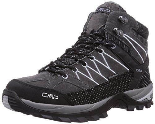 CMP Rigel Mid WP Herren Trekking- & Wanderstiefel, Grau (Grey U862), 47 EU