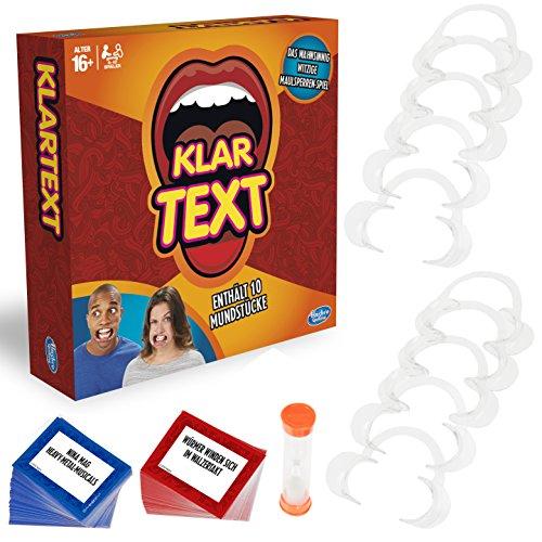 Hasbro Gaming C2018398 - Klartext Partyspiel (Alter 16+)