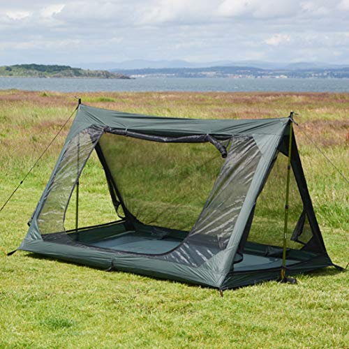 Innenzelt mit wasserfestem Boden und Moskitonetz passend zu A-Zelt von DD hammocks