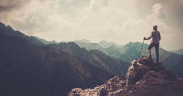 Bild: Wandern ist gesund und gut für Körper und Seele