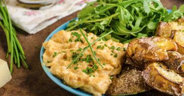 camping rezept mit kartoffeln und rührei