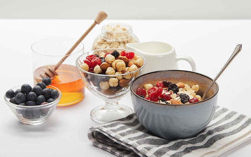 müsli camping rezept mit vielen Früchten