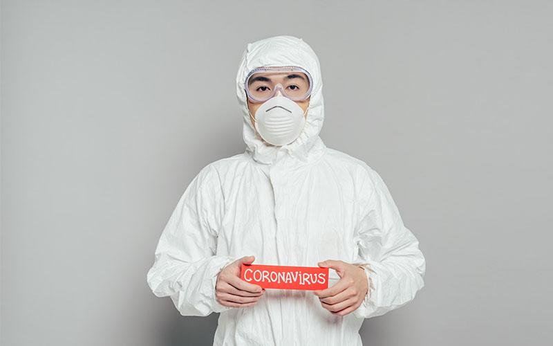 virus grippe maske